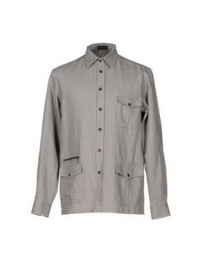 Pубашка MESSORI. Цвет: серый