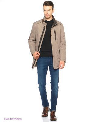 Куртка Valenti. Цвет: коричневый