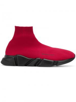 Кроссовки Speed Balenciaga. Цвет: красный