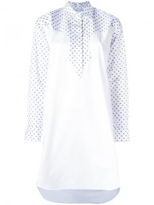 Рубашка-туника Rosetta Getty. Цвет: белый