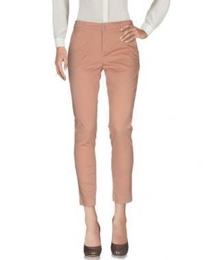 Повседневные брюки NIOI. Цвет: верблюжий