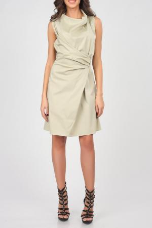 Платье Isabel Queen. Цвет: бежевый