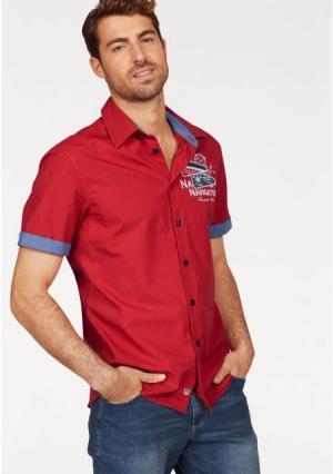 Рубашка Rhode Island. Цвет: красный