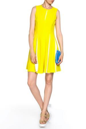 Платье TAYLOR. Цвет: желтый