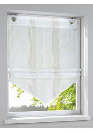 Римская штора Heine Home. Цвет: бежевый
