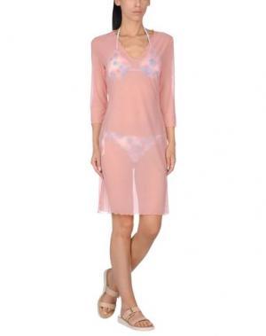 Пляжное платье DOMANI. Цвет: розовый