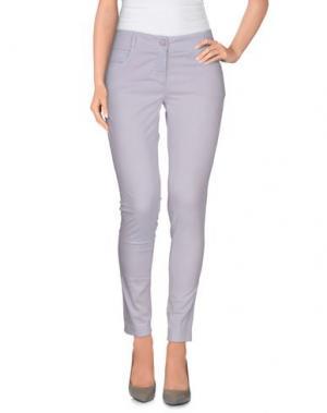 Повседневные брюки MANILA GRACE DENIM. Цвет: сиреневый