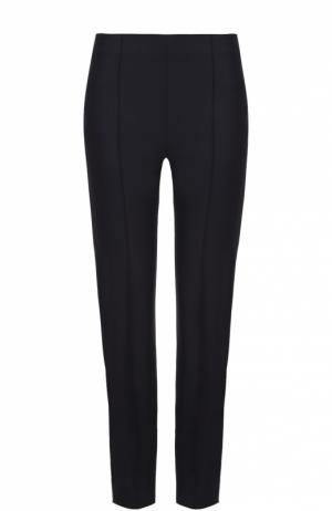 Укороченные брюки-скинни Theory. Цвет: синий