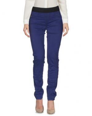 Повседневные брюки MARANI JEANS. Цвет: фиолетовый