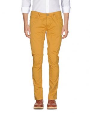 Повседневные брюки ZERO. Цвет: охра