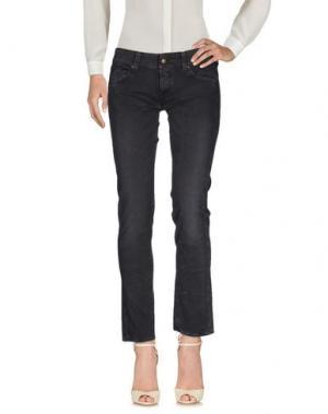 Повседневные брюки HTC. Цвет: свинцово-серый