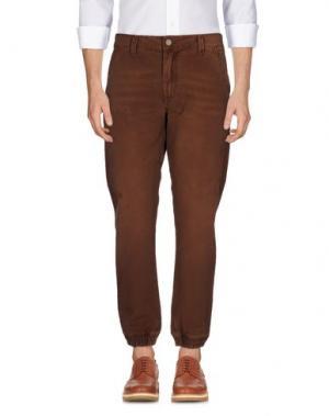 Повседневные брюки ROCK 'N' ROLL. Цвет: коричневый
