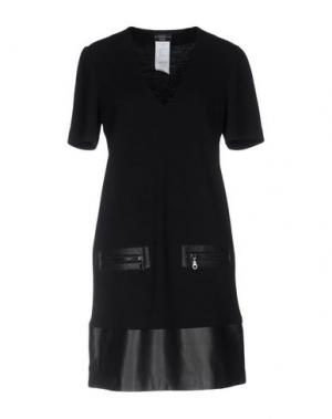 Короткое платье ALVIERO MARTINI 1a CLASSE. Цвет: черный