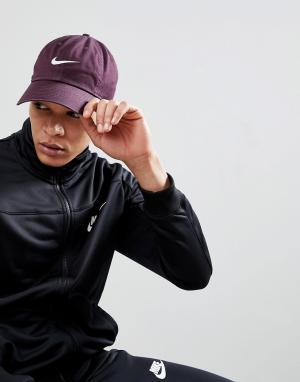 Nike Фиолетовая кепка с логотипом 546126-652. Цвет: фиолетовый