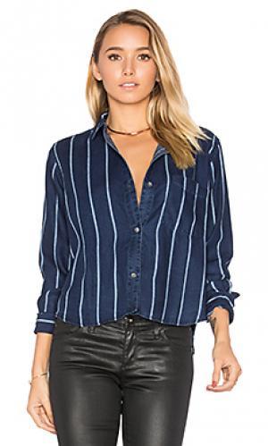 Рубашка dana Rails. Цвет: синий