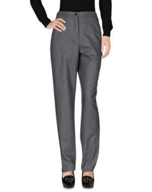 Повседневные брюки AALTO. Цвет: серый