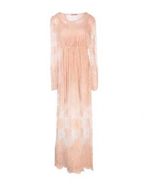 Длинное платье DV Roma. Цвет: розовый