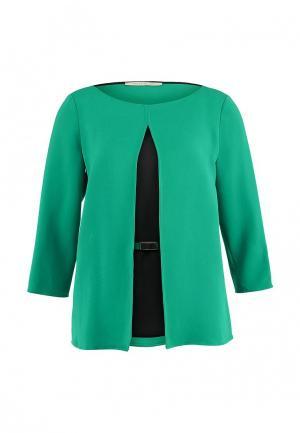 Блуза Pennyblack. Цвет: зеленый