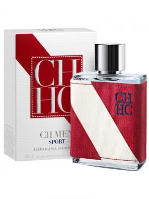 Carolina Herrera Sport man edt 100 ml. Цвет: белый, красный
