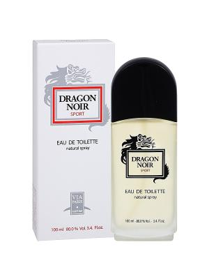 Туалетная вода Dragon Noir Sport (Dragon Sport) муж. 100ml PARFUMS. Цвет: прозрачный