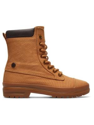 Ботинки DC Shoes. Цвет: светло-коричневый, рыжий