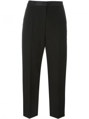 Укороченные прямые брюки Alexander Wang. Цвет: чёрный