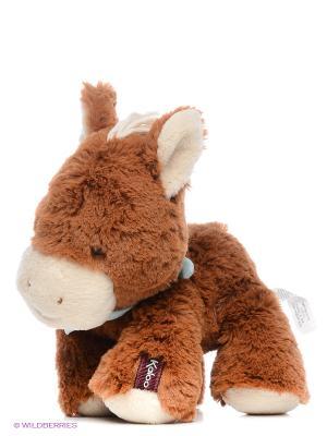 Лошадка 25 см, коллекция Друзья Kaloo. Цвет: коричневый
