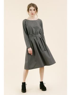 Платье №5 серое (KW3) (S (40-42)) MONOROOM