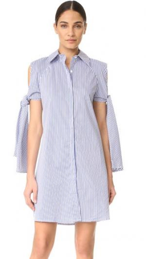 Платье Viggo Style Mafia. Цвет: голубой