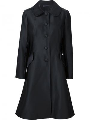 Расклешенное пальто Co. Цвет: чёрный