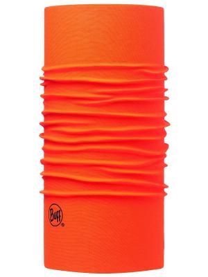 Шарф BUFF 2016-17 Original SOLID ORANGE FLUOR. Цвет: оранжевый