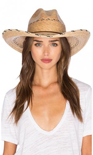Шляпа holland Brixton. Цвет: натуральный