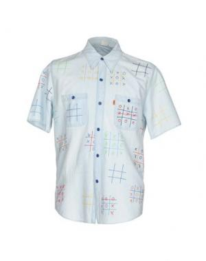 Джинсовая рубашка LEVI'S VINTAGE CLOTHING. Цвет: синий