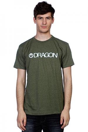 Футболка  Trademark F12 Sage Heather Dragon. Цвет: зеленый
