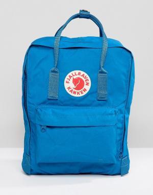 Fjallraven Синий рюкзак Kanken, 16 л. Цвет: синий