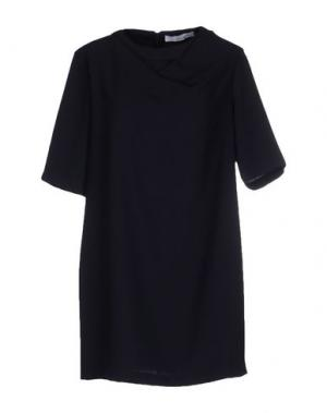 Короткое платье CHILI PEPPERS. Цвет: темно-синий