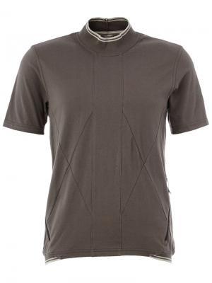 Классическая футболка-поло The Soloist. Цвет: серый
