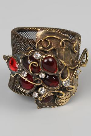 Кольцо для салфеток I Pavoni. Цвет: бронза