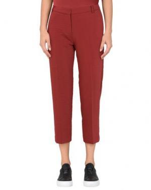 Повседневные брюки SAMSØE Φ. Цвет: красно-коричневый