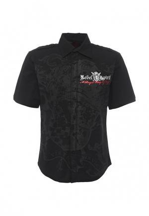 Рубашка Rebel Spirit. Цвет: черный