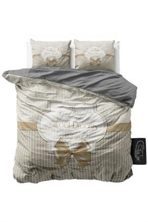 Комплект постельного белья Евро Sleeptime. Цвет: taupe