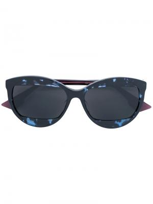 Солнцезащитные очки Dior Mania Eyewear. Цвет: розовый и фиолетовый