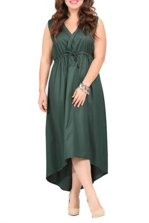 Платье VALERIA FRATTA. Цвет: dark green