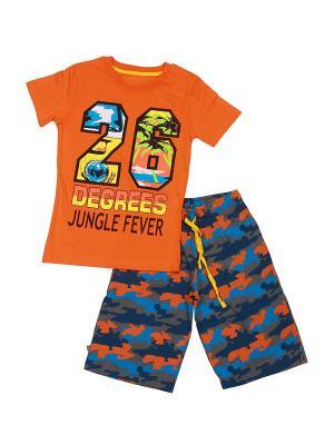 Комплект одежды SOFT SECRET. Цвет: оранжевый