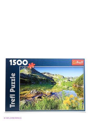 Пазл  Озеро Вельки Слав, Татры, 1500 эл. Trefl. Цвет: зеленый