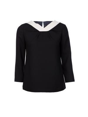 Блузка Poustovit. Цвет: черный