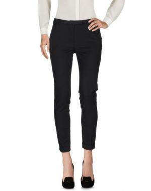 Повседневные брюки VAPOFORNO MILANO. Цвет: черный
