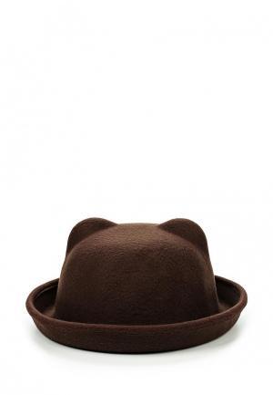 Шляпа Kawaii Factory. Цвет: коричневый