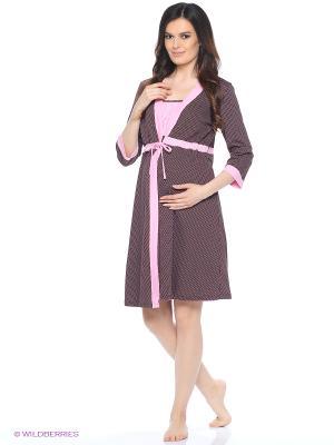 Комплект для беременных и кормящих FEST. Цвет: коричневый, розовый