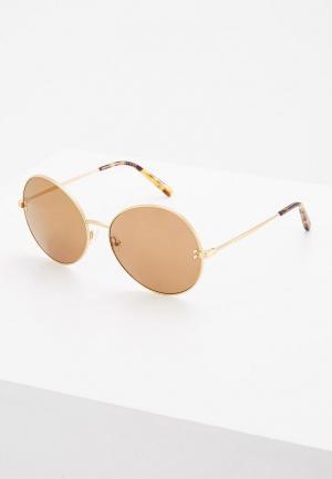 Очки солнцезащитные Stella McCartney. Цвет: золотой